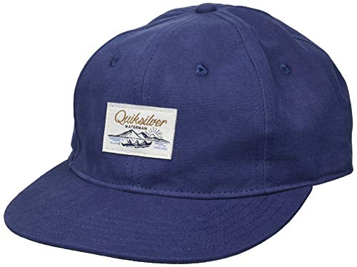 Quiksilver Waterman - Gorro cruzado para hombre, color azul