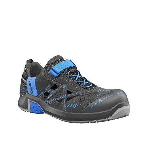 Haix CONNEXIS Safety Air S1 Low/Grey-Blue Sportlich-leichte Sandale für den Indoor-Bereich. 45