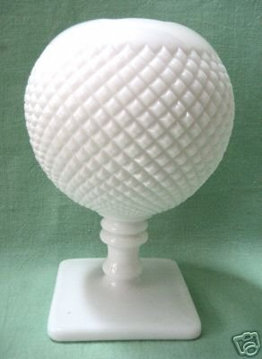 Moko's Attic Westmoreland Milk Glass Footed Rose Bowl Vase