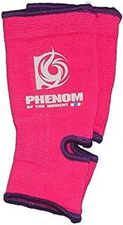PHENOMフェノム 子供用アンクルサポーター ピンク×パープル/女性 キックボクシング ムエタイ キックボクササイズ ボクササイズ