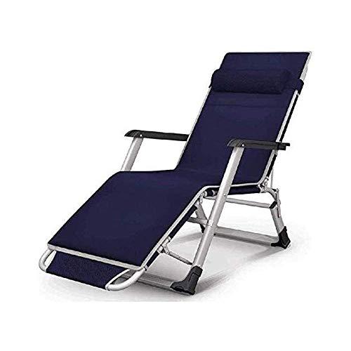 AWJ Silla de Gran tamaño Zero Gravity XL Sillones reclinables para Patio Silla Plegable Acolchada Chaise Lounge Extra Ancho para Junto a la Piscina Patio Exterior Playa,