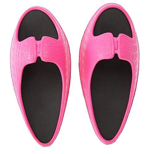 Pantofole da donna scosse per gambe per massaggio ai piedi che dimagriscono correzione della postura della gobba per alleviare il dolore(EUR 35-36)