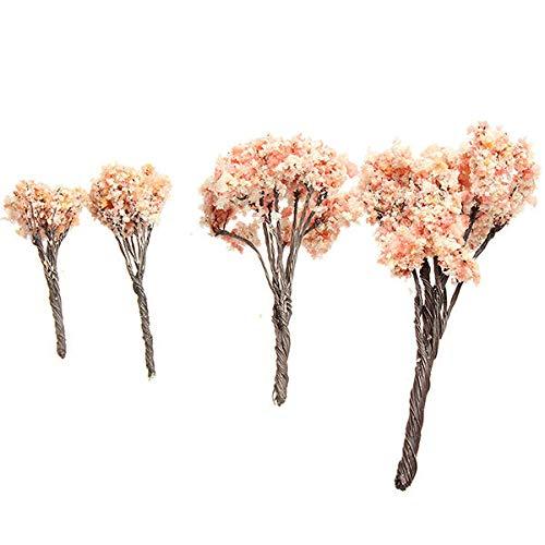 SHENGDAJIANZHU 4 Tamaño DIY Paisaje Minni Bosque de Cerezo Planta en Maceta Decoración de jardín (Color : 9)