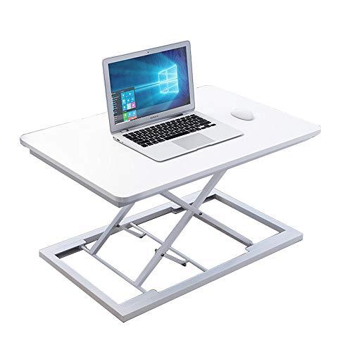 Table Hubtisch, Schreibtisch, hochklappbarer Laptop-Tisch(A, 60cm x 34cm x 41cm)