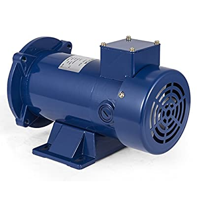 VEVOR 1/2 Hp DC Motor Rated Speed 1750 RPM 90V Electric Motor Permanent Magnet Motor with Brushes