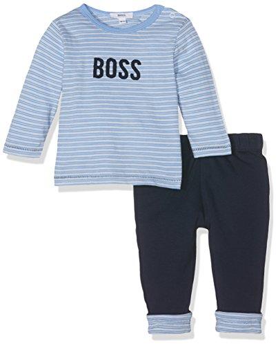 Boss de camisetas Boss, Pantalones para bebé niño, Azul (azul pastel), 9...