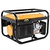 Awssya 2021 New Version Generator, 4000W Gas-Powered Portable Generator with Carrying Handle, Generators for Camping,Home Emergency, Generator Engine for Jobsite RV Camping Standby - UK in Stock