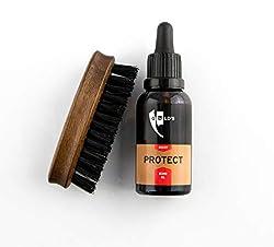 GØLD´s Bartpflege-Set, bestehend aus Bartöl Massiv und Bartbürste aus Wildschweinborsten, das perfekte Bart-Geschenk