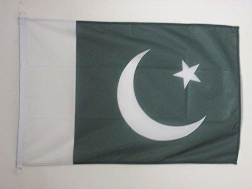 AZ FLAG Flagge Pakistan 150x90cm - PAKISTANISCHE Fahne 90 x 150 cm Aussenverwendung - flaggen Top Qualität