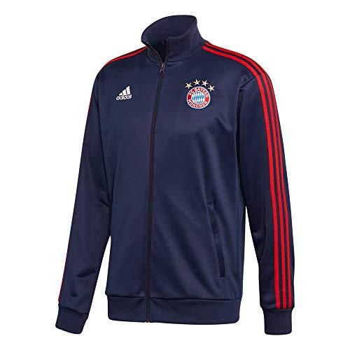 adidas FC Bayern Munchen Temporada 2020/21 FCB 3S TRK Top Chaqueta 3 Bandas, Unisex, Maruni/Rojfcb, XS