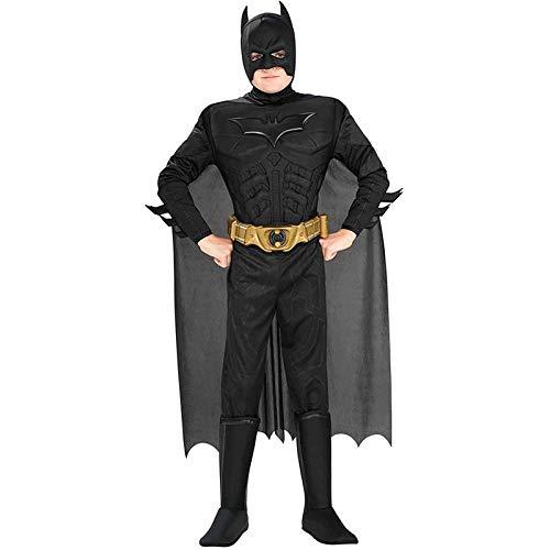 ZZX Dark Knight Batman, Disfraz De Superhroe, Pelcula Cosplay, Disfraz De Fiesta De Carnaval De Halloween, Nio,Black-M