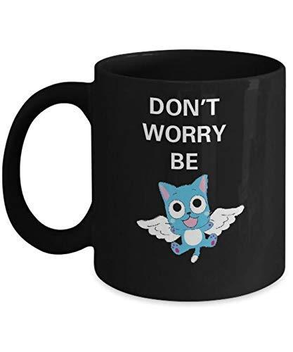 Fairy Tail - Taza de café feliz