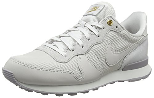 Nike Damen W Internationalist Premium Sneaker, Grau (Vast Grey/Summit White/Atmosphere Grey/Vast Grey 013), 42.5 EU