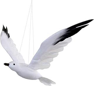 ASSIS mouette en bois oiseau Coastal Cadeaux Décorations Bird Ornament
