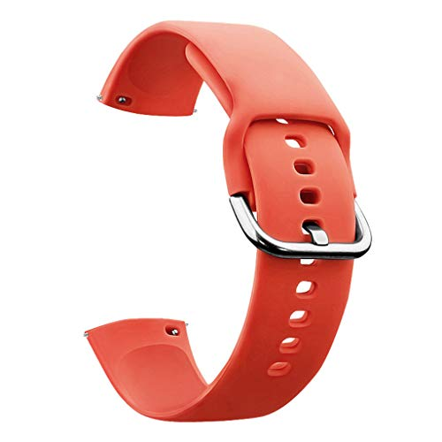 unknows - Correa de silicona para reloj S-amsung G-alaxy Watch 46 mm Gear S3 Frontier Strap