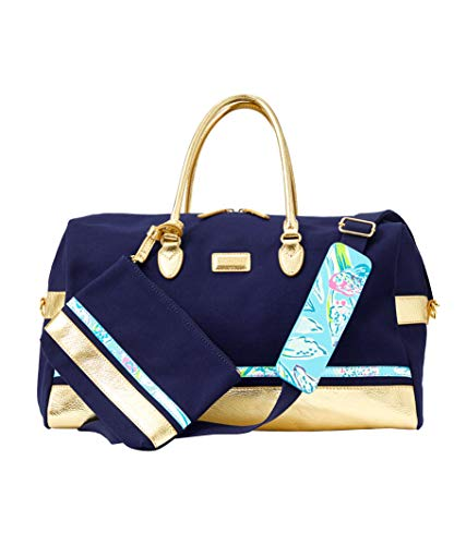 Lilly Pulitzer - Gypsea Weekender Duffle and Pouch - Inky Navy