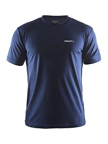 Craft Prime Tee T-Shirt Homme, Bleu Marine, XXL