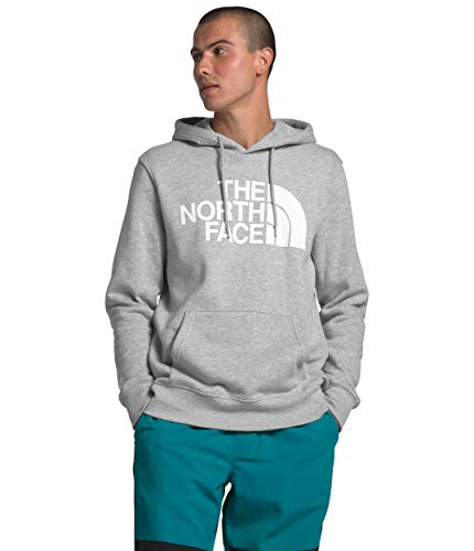 The North Face Men's Half Dome Pullover Hoodie, TNF Light Grey Heather, S