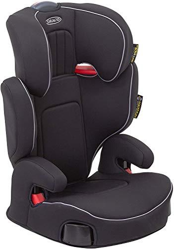 Graco Assure Kindersitz Gruppe, Kopfstütze verstellbar, Kopfstütze verstellbar, inkl. Seitenaufprallschutz, Getränkehalter, Schwarz