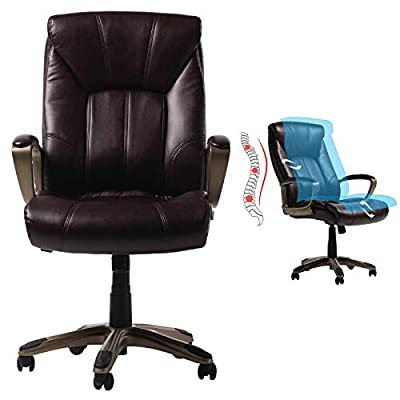 Amazon - Save 15%: Adjustable Ergonomic Office Chair with 360 Degree Swivel   Comforta…