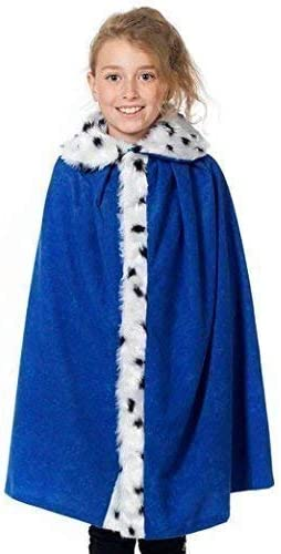 Deluxe Royal Crown King Queen Fancy Dress Child Christmas Nativity Adults Kids