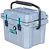 Cubix Coolest Cooler | 10 Quart Gray Lifetime Rotomolded Ice Cooler | Portable and Hard Lunch Box | Perfect for Fishing and Beach