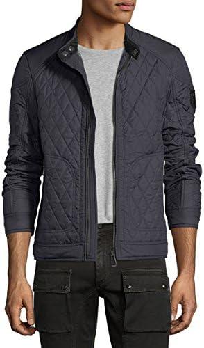 Belstaff New Bramley Quilted Jacket (Dark Navy, 46)