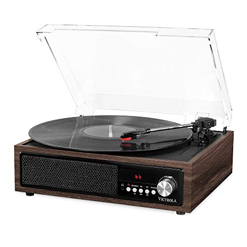 Victrola 3-in-1 Bluetooth Plattenspieler Vinyl Music Center, VTA-67-ESP-EU