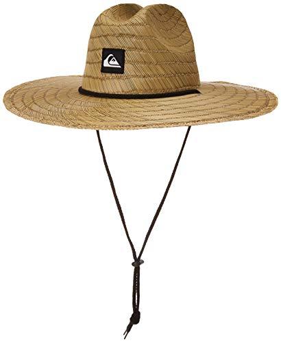 Quiksilver Pierside - Sombrero de paja salvavidas para niños