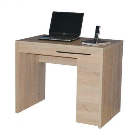 Jahnke CL 100 WS Computer-Schreibtisch, E1-Spanplatten, melaminharzbeschichtet, weiß, 92 x 60 x 76 cm