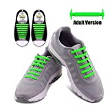 EgBert Hn-4221 Senza Cravatta Lacci Shoelaces Multicolor Scarpe in Silicone Elastico - Ver...
