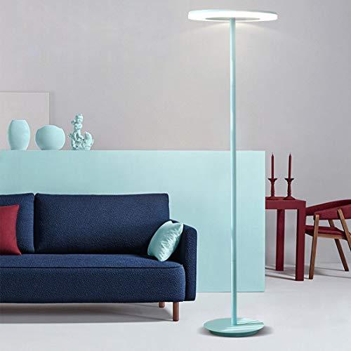 LAMPES À PLANCHER INTÉRIEUR ZXC YWXLight Lampadaire Macaron Simple (Bleu) (Couleur : Blue)