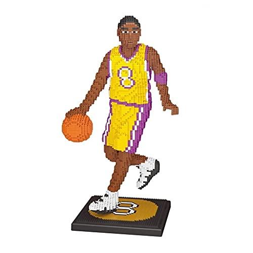 Bloques de construcción NBA Baloncesto Black Mamba Micro Building Blocks 3D Puzzle DIY TOYS Cumpleaños creativo regalos para niños niños juguetes educativos para adultos Modelo Modelo Coleccionable 31
