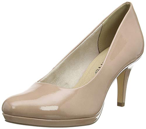 Tamaris Damen 1-1-22444-24 Pumps, Pink (Old Rose PAT. 560), 39 EU