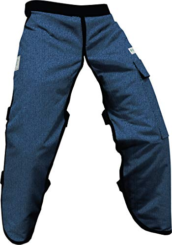 Forester Protective Denim Apron Style Chainsaw Chaps Regular Length