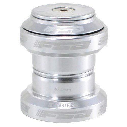 FSA Orbit MX 1-1/8Inches Threadless MTB Road Headset with Top Cap, Silver, NO.20, XTE1508
