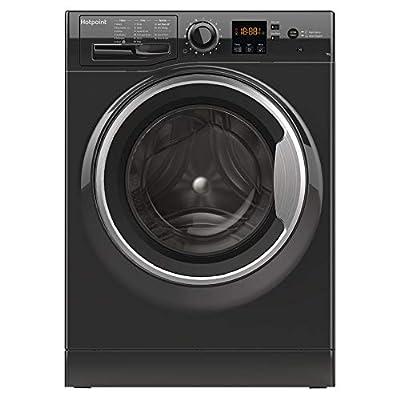 Hotpoint Ltd NSWF 743U BS UK 1400rpm Washing Machine 7kg Load Class A+++ Black