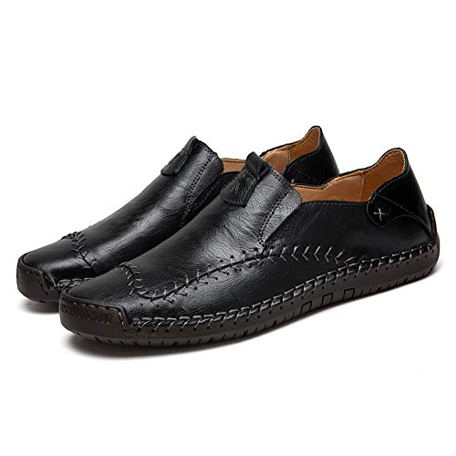 Chic Leather Shoes Loafers for Men