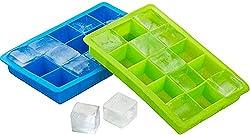 Silicone ice cube trays were used to make herb saute cubes | PreparednessMama