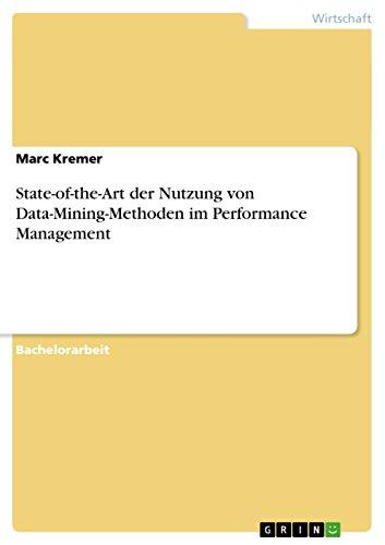 State-of-the-Art der Nutzung von Data-Mining-Methoden im Performance Management