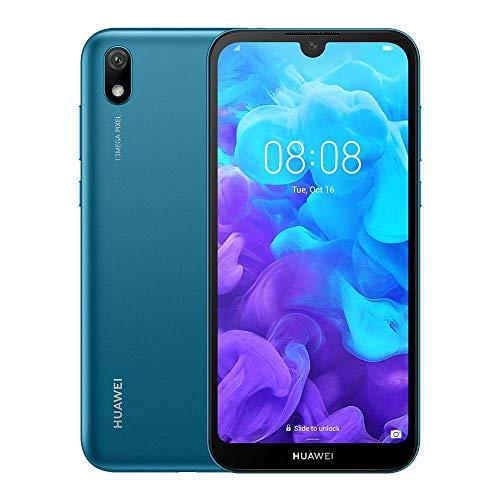 HUAWEI Y5 2019 Dual SIM Smartphone (14, 5 cm (5, 71 Zoll), 16GB ROM, 2GB RAM, 13MP Hauptkamera, 5MP Frontkamera, Android 9.0, EMUI 9.0) Sapphire Blue
