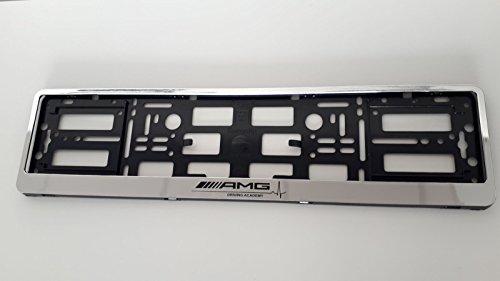 Kennzeichenhalter für AMG (W210,W211,W204,W205,W220,W221,W164,W207), verchromt