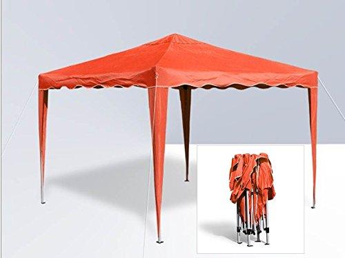 DS-Handel Faltpavillon - Klapppavillon - Pavillon 3 x 3 Meter mit Tasche in 7 (Terracotta)