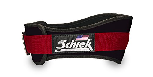 "Schiek Sports, Inc. 4.75"" Power Contour Belt in Black Size: L (35"" - 41"")"