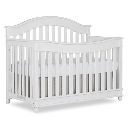 Evolur Hampton/Parkland 5 in 1 Lifestyle Convertible Crib