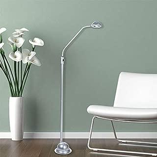Lavish Home 72-KD010F-S Modern High Power LED Floor Lamp, Silver