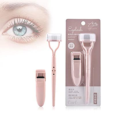 ZLCA Eyelash Curler for Women Corner Half Eye L...