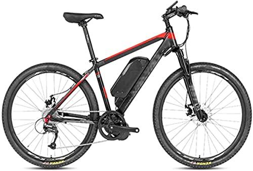CASTOR Bicicleta electrica Bicicleta eléctrica de 26 Pulgadas Bicicleta, 48V / 10A Montaña Bicicleta LCD Pantalla Digital Control de Ciclismo al Aire Libre Adulto