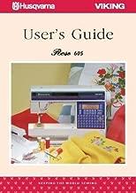 Husqvarna Viking Rose 605 Sewing Machine User's Guide COLOR Comb-Bound Reprint Copy of Manual