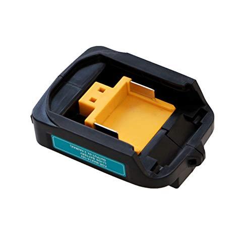SHIZHI Cargador de batería Ajuste para Makita 14.4V 18V BL1830 BL1430 DC18RC DC18RA EU Cult 1PCS Adaptador USB para su teléfono (Color : USB Adapter, Socket Standard : EU Plug)